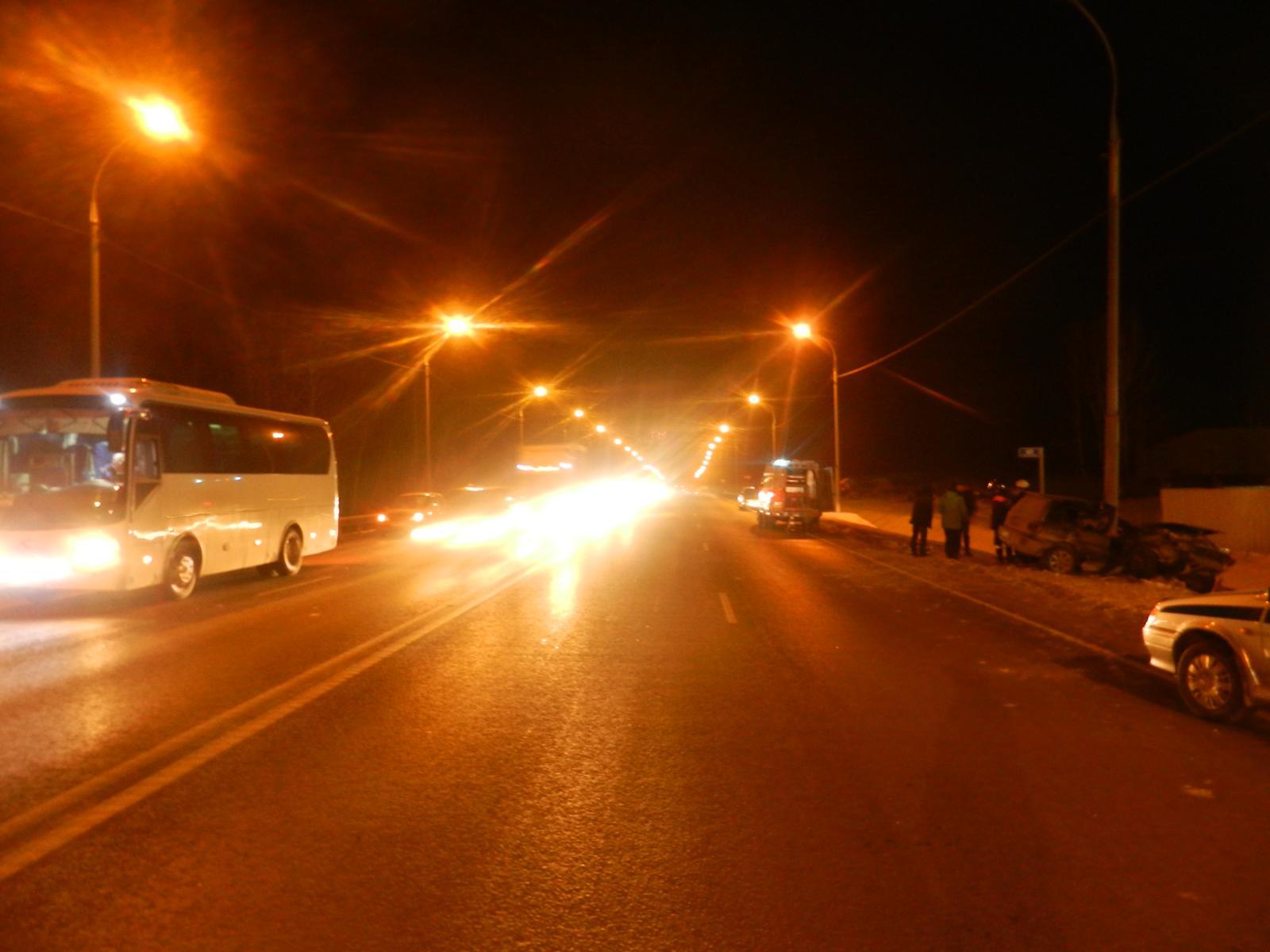 ДТП произошло на 40-м километре Чуйского тракта