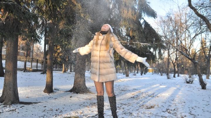 Последние выходные января в Екатеринбурге будут тёплыми