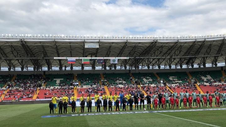 ФК «Ростов» на выезде проиграл клубу «Ахмат»