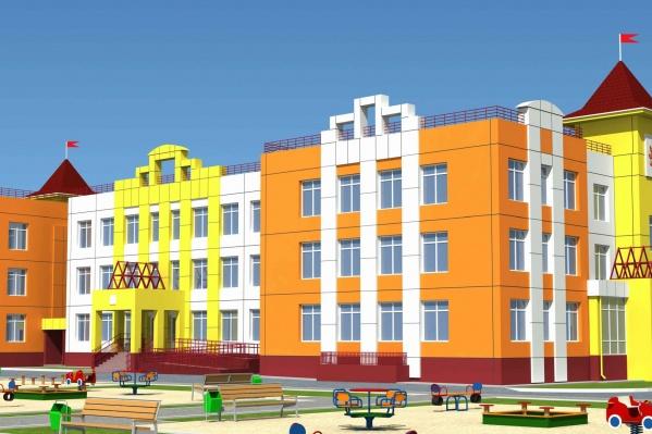 Панельные детсады планируют строить по уже существующему проекту