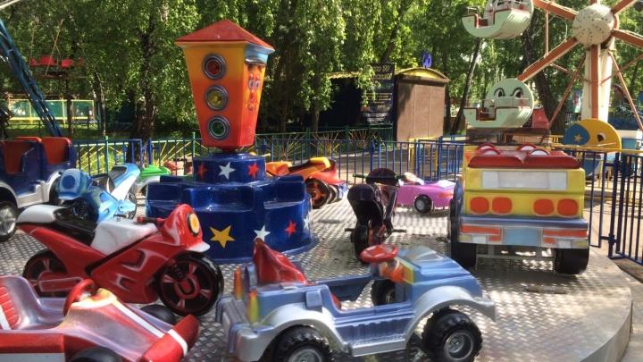 В парке имени 30-летия ВЛКСМ протестировали новую карусель за 2,6 миллиона рублей