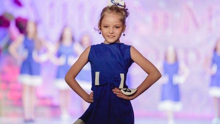 Школьница из Красноярска претендует на титул мировой принцессы красоты