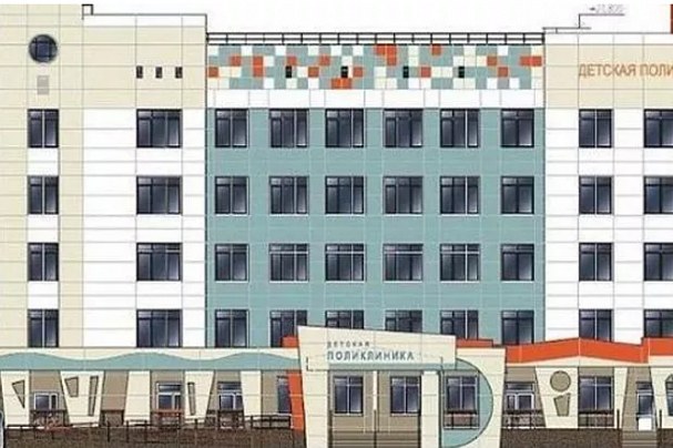 Что-то не так со сваями: строительство новой детской поликлиники затормозилось