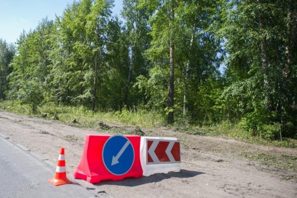 ДТП произошло на улице Линейной ст. Мочище<br>Фото из архива НГС