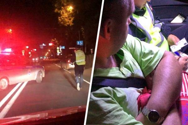 Водитель отрицал, что он пьян