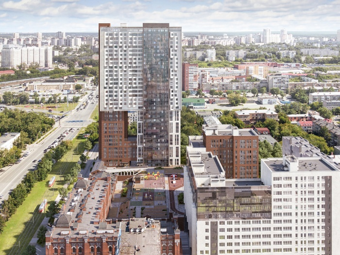 Эта высотка в будущем может стать архитектурной доминантой центра города