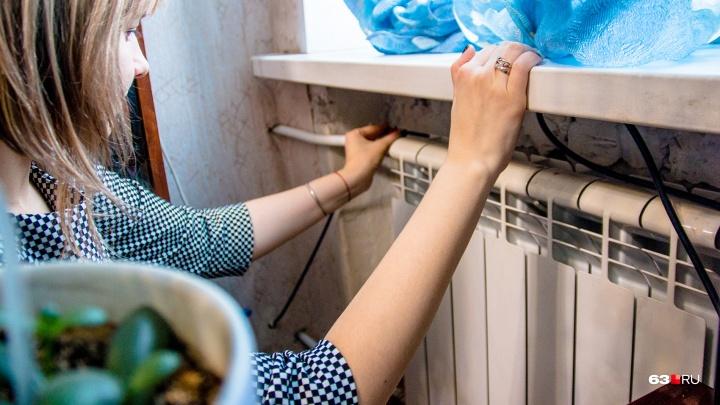 В домах похолодает: в Кировском районе Самары прорвало теплотрассу