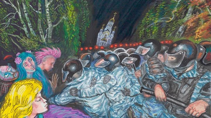 «Не было такого со времен Гражданской войны»: художник Алексей Рыжков — о конфликтах в Екатеринбурге
