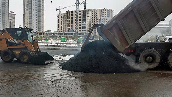 Масштабный ремонт и строительство дорог запланировали в Красноярске на 3 года