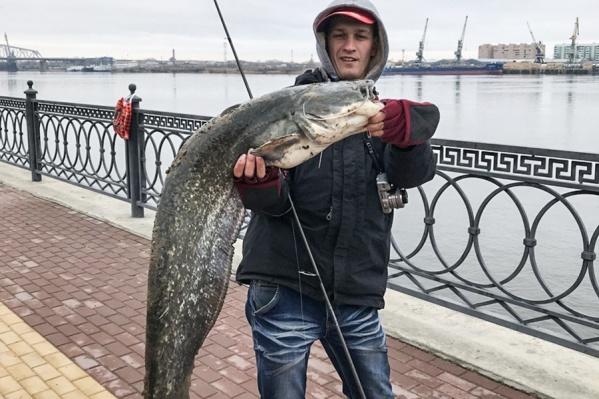Рыбина длиной 1,2 метра
