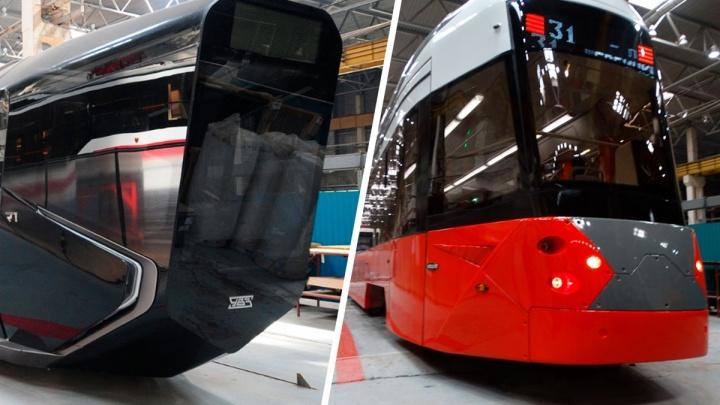 Вы серьезно? Новый трамвай Уралтрансмаша оказался младшим братом знаменитого «айфона на колесах»