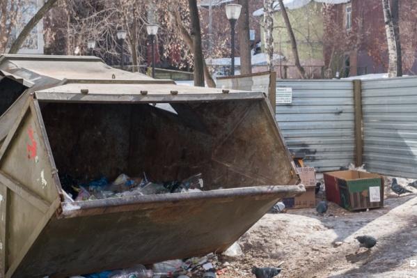 Чтобы рассчитать тарифы, в крае посчитали сколько мусора выкидывают жильцы
