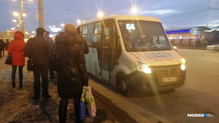 В Омске повысили тарифы на проезд в маршрутках на следующий год