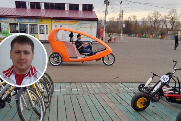 Максим Бархатов пришел в чиновники из большого спорта
