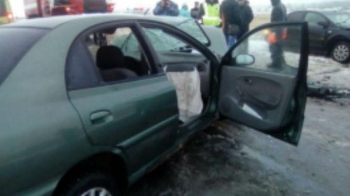 В Башкирии в ДТП пострадала известная ведущая
