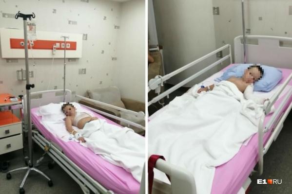 Пострадавшие дети находятся в турецкой больнице