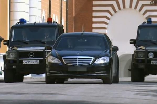ПрезидентскийMercedes-Benz в Москве
