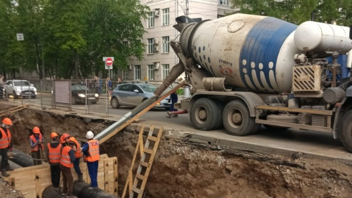 На улице Луначарского в Перми ограничат движение транспорта до Сибирской