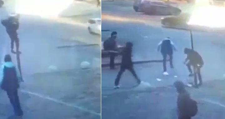 «Карабкались по столбу и били кулаками»: в Ростове подростки разгромили фонари