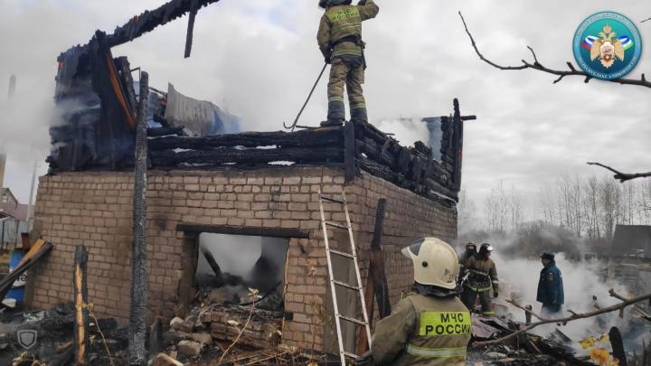 Следователи Башкирии возбудили уголовное дело по факту пожара, где в огне сгорела девочка-инвалид