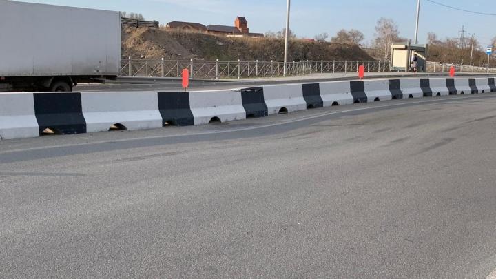 На самой новой дороге Новосибирска отремонтируют асфальт