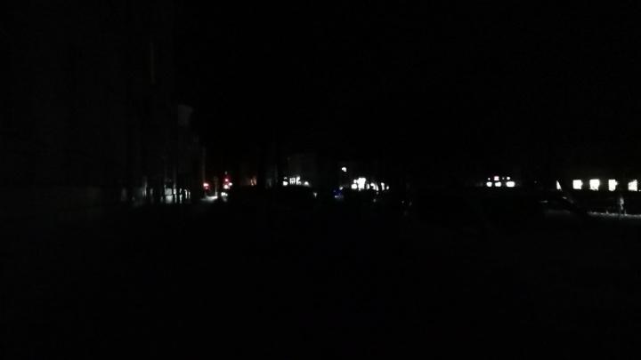 Центр Ярославля обесточили: какие улицы погрузились в кромешную тьму