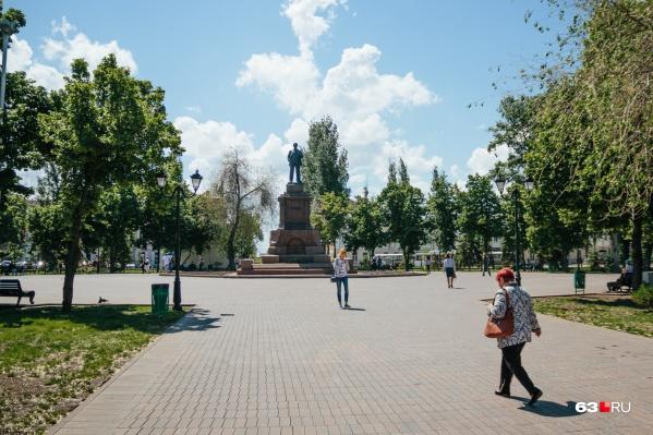 Площадь Революции, по задумке авторов, должна войти в границы исторического поселения
