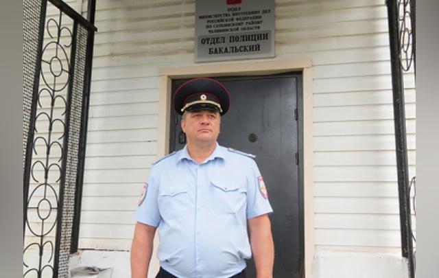 «Дом был заполнен густым дымом»: на Южном Урале полицейский спас из огня женщину