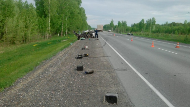 В ГИБДД рассказали подробности о смертельной аварии с двумя «Камри» на трассе