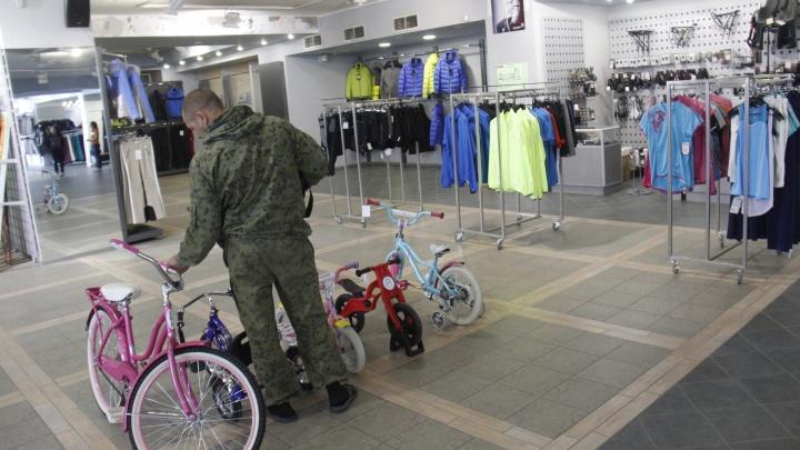 В Новосибирске закрывается последний магазин федеральной сети спорттоваров