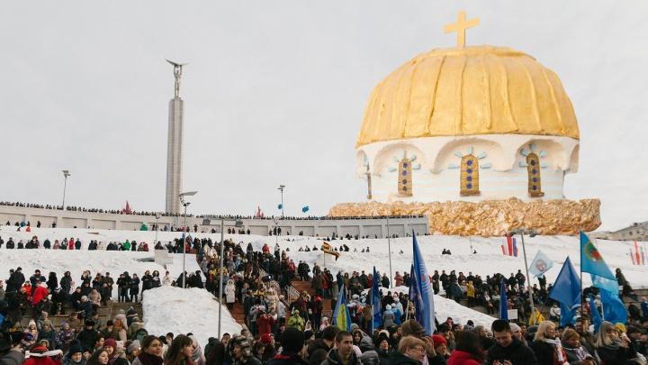 Паниковский в шоке: как отметили «Крымскую весну» в Самаре