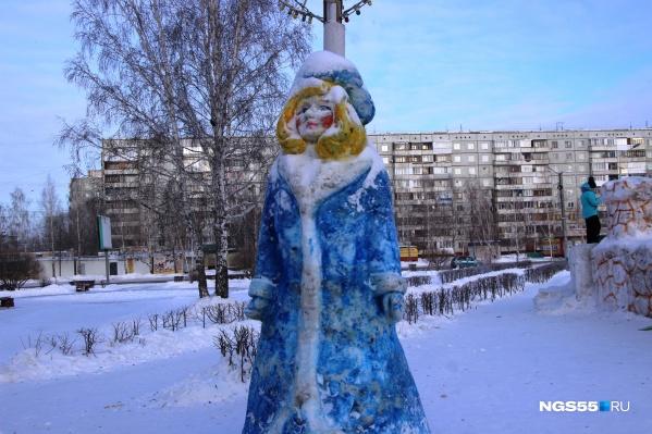 Ледяное сердце Снегурочки на Гашека не смогут растопить даже самые горячие омичи