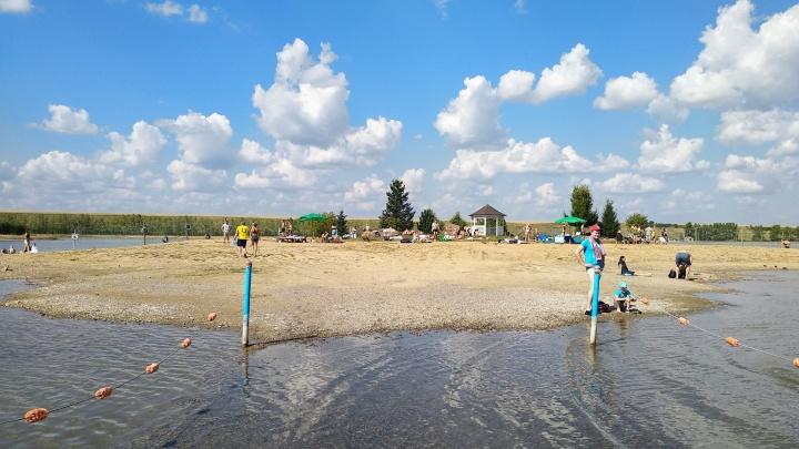 В Красноярском крае открылся первый пляж. Смотрим, где можно будет искупаться в окрестностях города