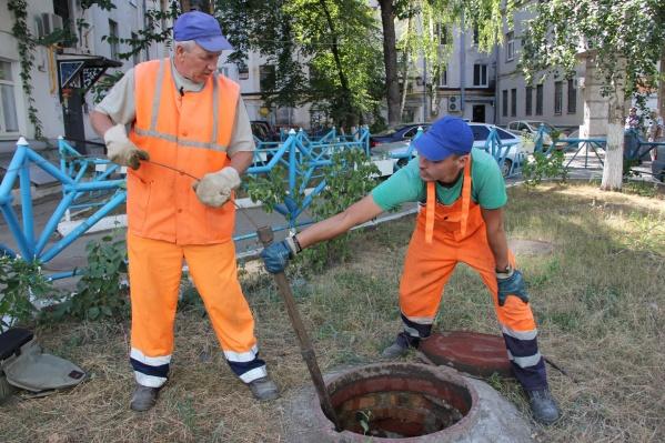 В конце лета чистить колодцы в Самаре приходится чаще