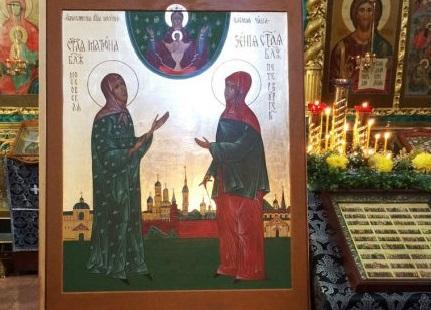 Икону с ликами Ксении Петербургской и Матроны Московской привезут в Нижний Новгород