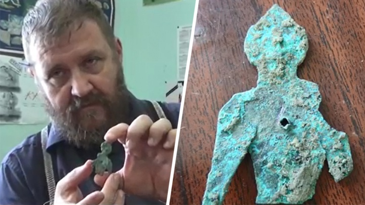 В Азове при раскопках нашли древний амулет монголов