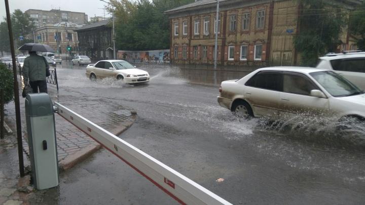 Где затопило улицы и отключило светофоры: список улиц