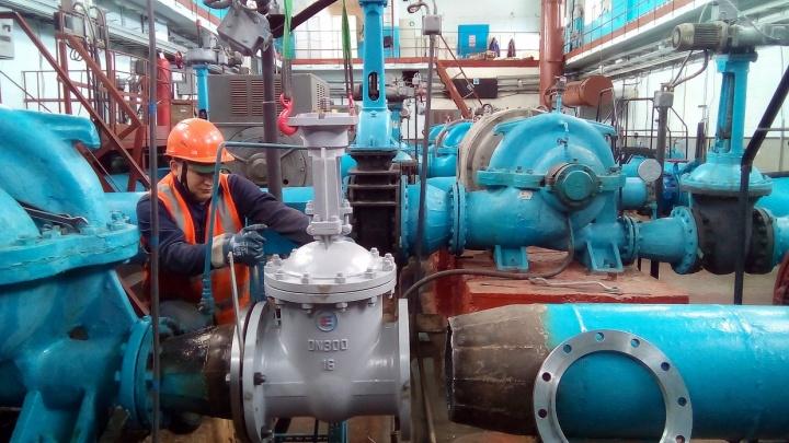 В двух районах Красноярска на 8 дней отключают горячую воду