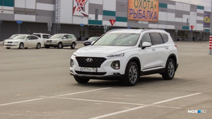 Новосибирск занял 14-е место по продажам новых машин