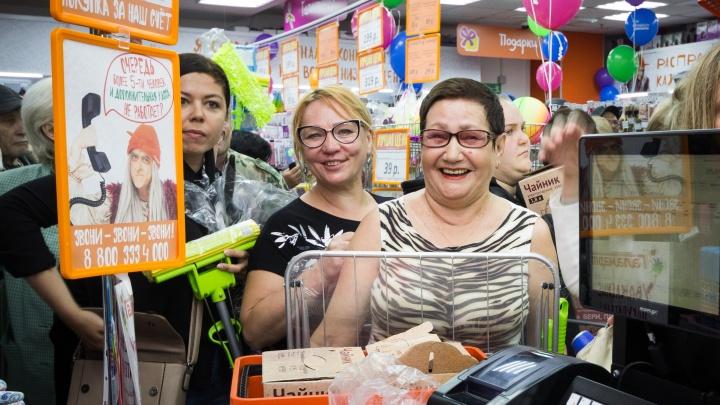 Самарцы смогут купить электрочайники за 199 рублей на праздничном открытии «Галамарта»