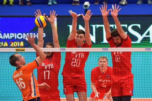 В Екатеринбург приедут лучшие мужские команды
