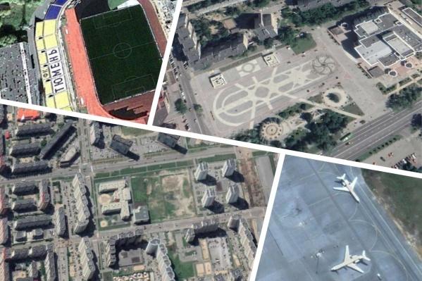 Благодаря снимкам со спутника мы можем отследить, как разрастается город со временем