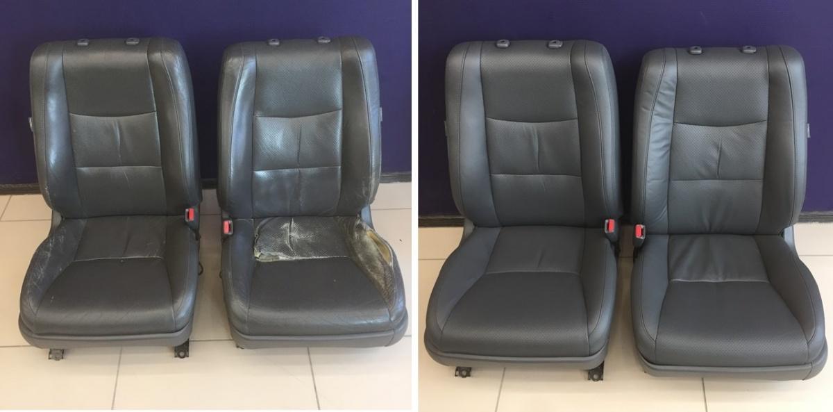 Реставрация кожаных сидений