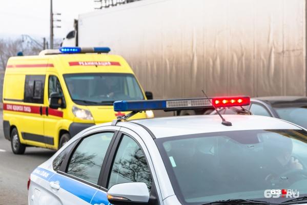 Одним из участников дорожно-транспортного происшествия стал грузовой автомобиль