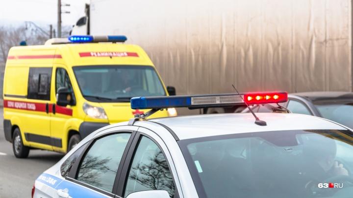 В Волжском районе произошло «грузовое» ДТП со смертельным исходом