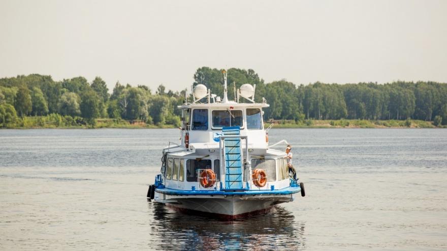 Через неделю по Волге начнёт ходить речной трамвайчик: расписание