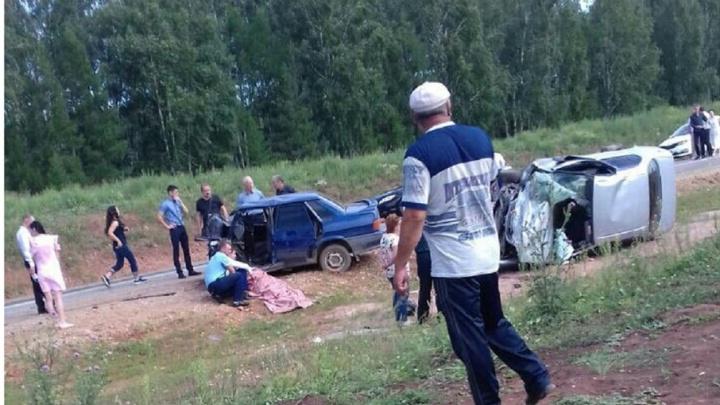 Смертельная авария в Башкирии: невеста разбилась по дороге на свадьбу