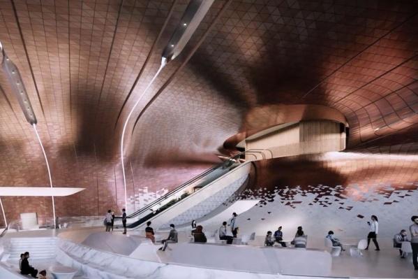 На культурном форуме показали проект нового зала
