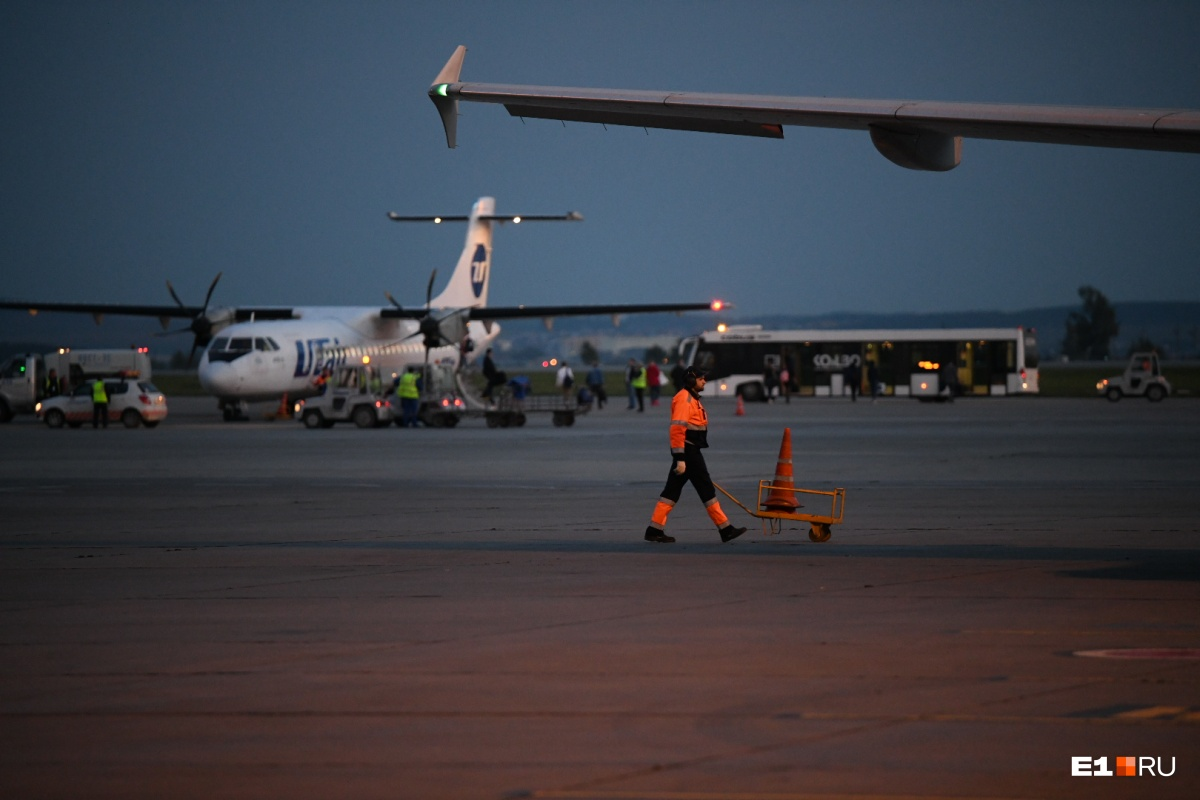 Самолет ATR 72-500 авиакомпании Utair