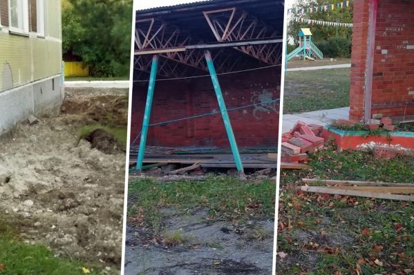 Родители сообщили о травмах, которые дети получают на детских площадках